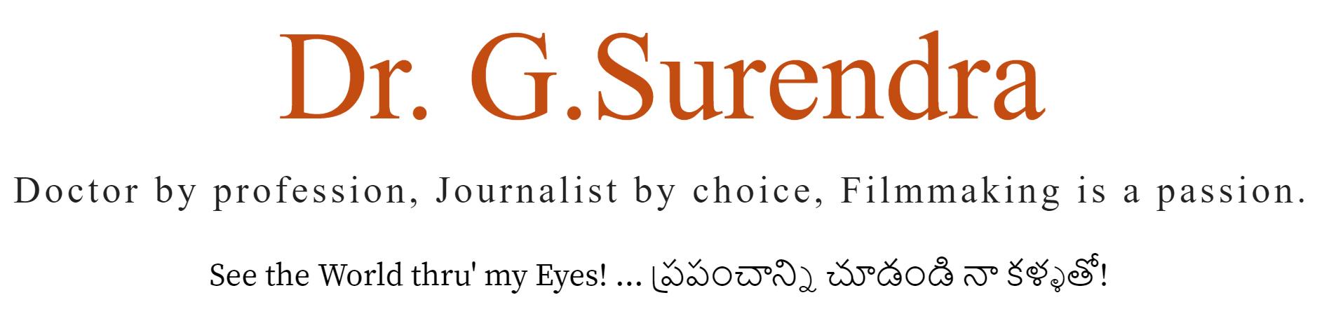 Dr.G.Surendra