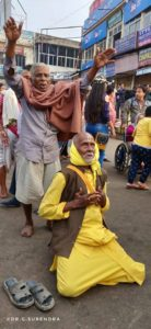 Devotion - as seen at Jagannath temple, Puri Odisha.