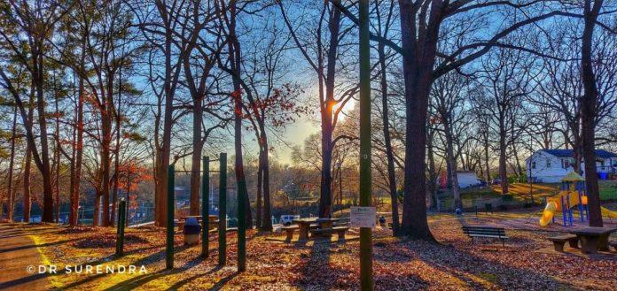 Evening at the park - Florence Alabama USA
