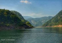 Godavari flowing