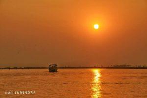 Sunset on Godavari