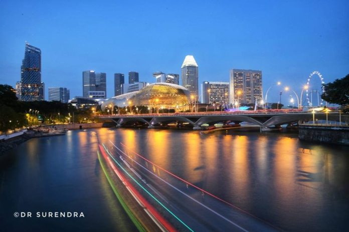 Cityscapes Singapore.