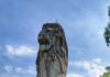 Merlion on Sentosa island