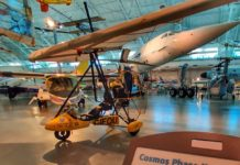 The Cosmos Ultralight plane