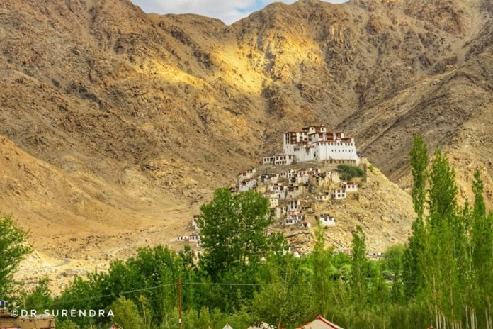 Chemrey monastery, the Buddhist temple 40 kms