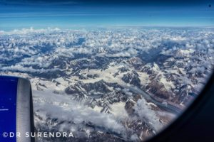 Himalayas from the top
