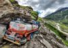 Independence Quatro drives - day8- Landslide