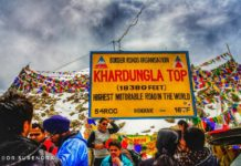 The Highest motorable