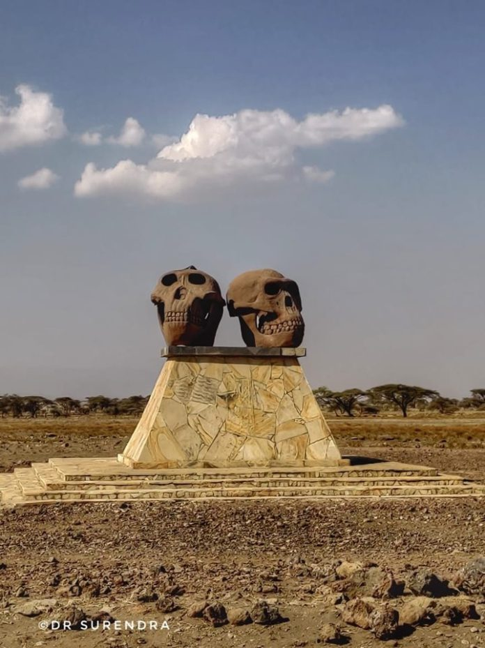 Our ancestors lived here - Olduvai Gorge, Serengeti Tanzania.
