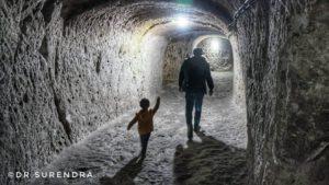 The Derinkuyu underground city