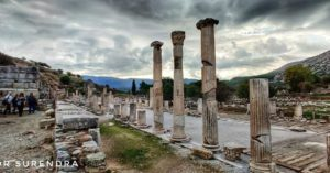 The ruins of Ephesus, selcuk, Turkey