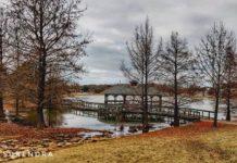 Deibert park in winter