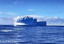 Iceberg near South