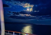 Nightscape in Southern Ocean