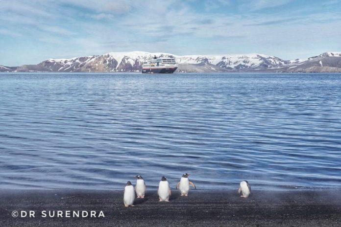 Stuck in Antarctica