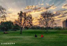 Morning at Central park, Jaipur