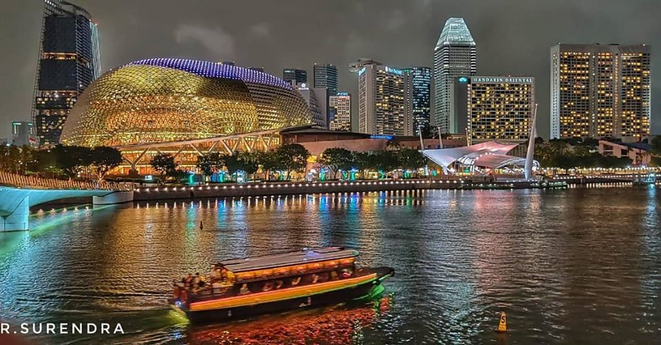 Nightscape of Singapore