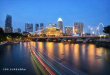 Cityscapes Singapore.