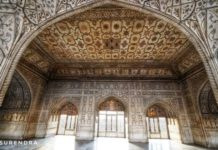 The bedroom of Shahjahan