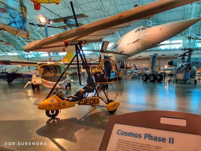 The Cosmos Ultralight plane