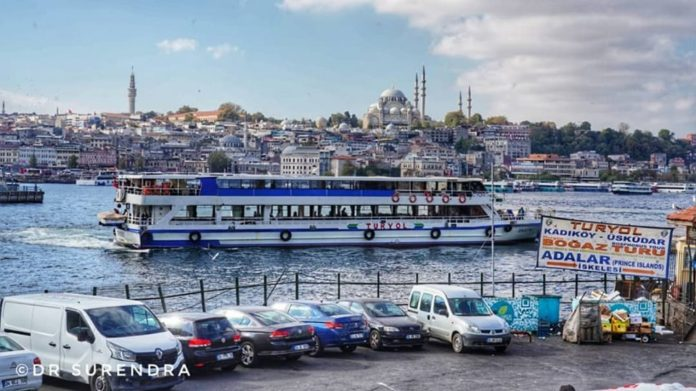 Istanbul is the only city in the World