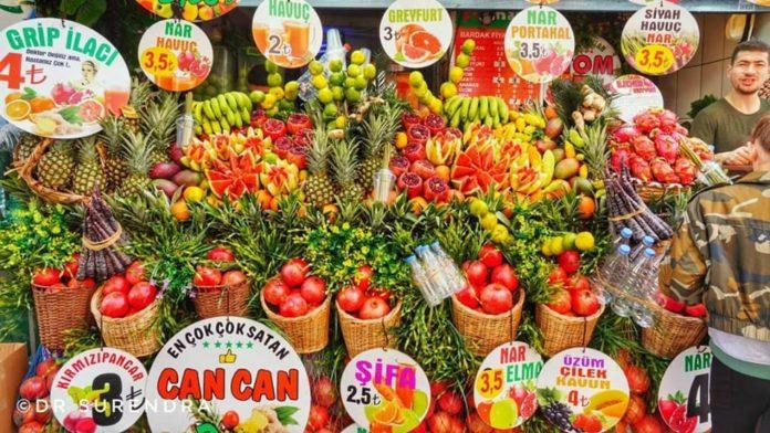 A feast of fruits