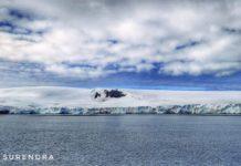 Antarctic landmass