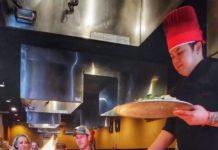 Fire restaurant or Teppenyaki grill