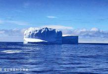 Iceberg near South