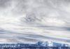 Ice cap over Antarctica