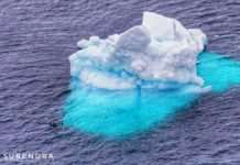 Iceberg is fresh water