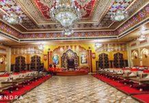 Corona effect - Empty restaurant in Royal Rajasthan.