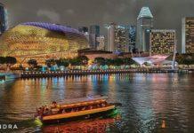 Nightscape of Singapore
