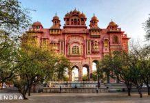 Patrika gate, Jawahar circular garden, Jaipur Rajasthan.
