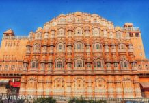 Hawamahal - the iconic structure of Jaipur Rajasthan