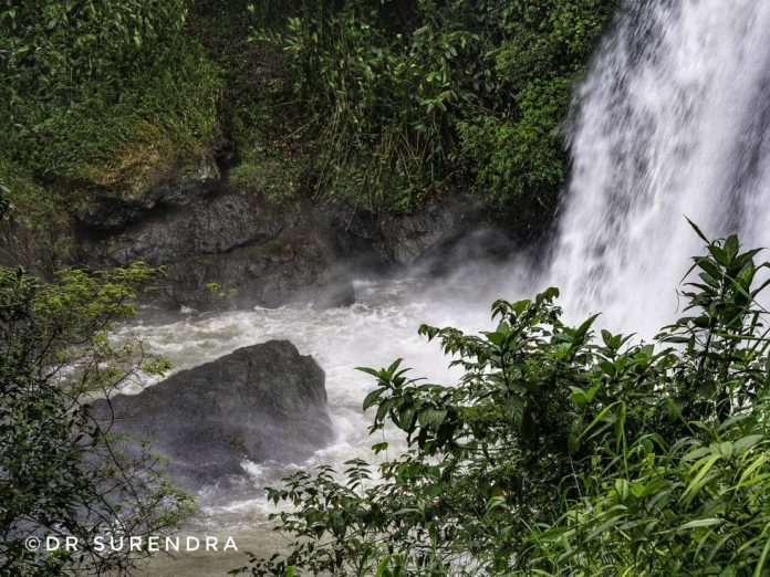 *My Picture of the day* - Chelavara waterfalls - beautiful but dangerous. It is approximately 100 feet deep and people can easily get into dangerous waters and pulled in. Seen at Kakkabe, Coorg Karnataka. ****** Dr.Surendra www.instagram.com/dr.surendra.2017