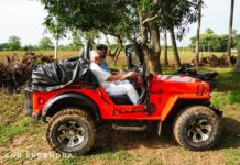 *My Picture of the day* - Age is just a number - My father, now 90, driving off-road in a jeep. Having worked as an Engineer in Nagarjuna Sagar and other projects, the Jeep drive is a nostalgic memory revisited. ****** Dr.Surendra www.instagram.com/dr.surendra.2017