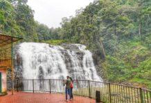 Abbey waterfalls at Madikeri, Coorg Karnataka