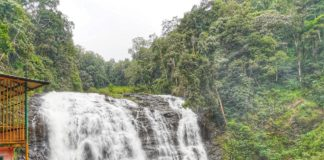 Abbey waterfalls at Madikeri, Coorg Karnataka