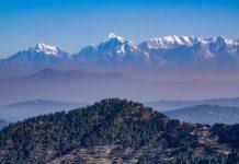 Nanda Devi range of Himalayas