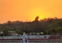 Eshwar and Ganga at Rishikesh