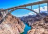 *My Picture of the day* World's highest concrete arch bridge - the Hoover dam bypass bridge built in 2010, situated 890 feet above the Colarado river, has the widest and highest concrete arch in the western hemisphere. ***** *Dr.Surendra* — in Hoover Dam. Nevada/Arizona State Line