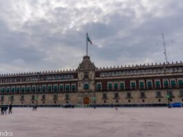 *My Picture of the day* The National Palace, Mexico City - the official residence of the president of Mexico located in the main square of the city known as Constitution square. ***** *Dr.Surendra* — in Mexico City, Mexico.