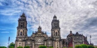 *My Picture of the day* Metropolitan cathedral in Mexico City - constructed by the Spanish after the conquest of the Aztec empire in 1573. It took a long time to finish the construction, nearly 250 years. ***** *Dr.Surendra* — in Mexico City, Mexico.