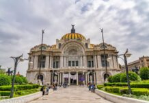 """*My Picture of the day* The Palacio de Bellas Artes - the Palace of Fine Arts is a prominent cultural center and known as the """"Cathedral of Art in Mexico"""", located on the western side of the historic center of Mexico City. ***** *Dr.Surendra* — in Mexico City, Mexico."""