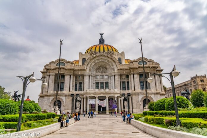 *My Picture of the day* The Palacio de Bellas Artes - the Palace of Fine Arts is a prominent cultural center and known as the
